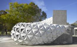 Biokunststofffassade